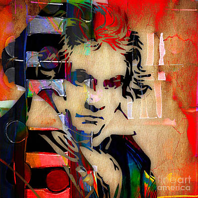 Beethoven Mixed Media - Ludwig Van Beethoven Collection by Marvin Blaine