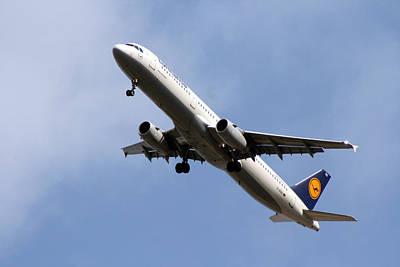 Financial Mixed Media - Lufthansa by Doc Braham