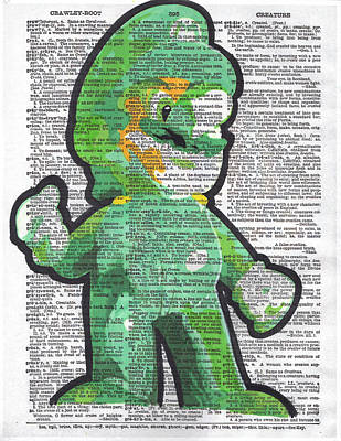 Luigi Print by Kyle Willis