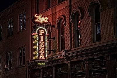 Window Signs Photograph - Luigi's Pizza by Rick Berk