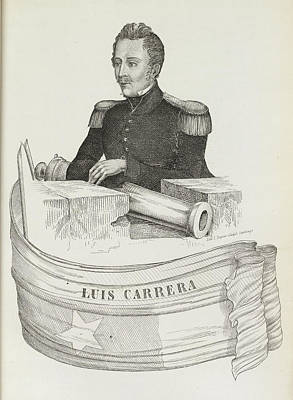 Luis Carrera Print by British Library