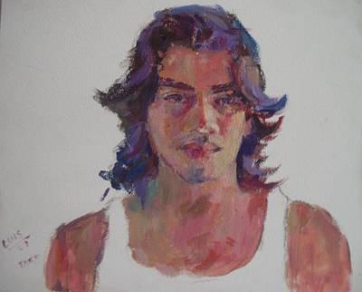 Luis Print by Todd Taro