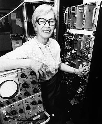 Luise Meyer-schutzmeister Print by Emilio Segre Visual Archives/american Institute Of Physics