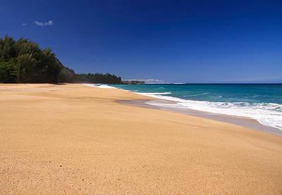 Kauai Photograph - Lumahai Beach On Kauai by Steve Heap