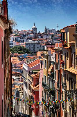 Alto Photograph - Luminous Lisbon by Carol Japp