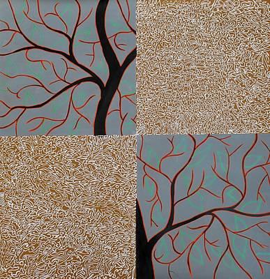 Luminous Tree Of Barsoom Print by Sumit Mehndiratta