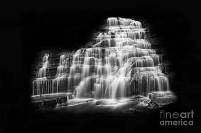 Luminous Waters Vii Print by Michele Steffey