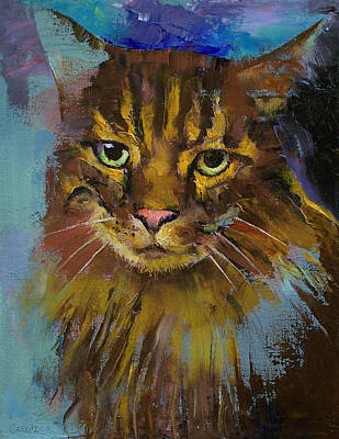 Realist Painting - Luna by Michael Creese