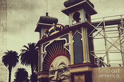 St.kilda Photograph - Luna Park #2 by Tracy Edgar
