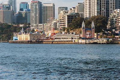 Luna Park Photograph - Luna Park On Milsons Point, Sydney, New by Panoramic Images