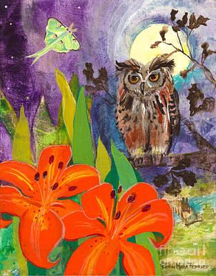 Lunar Enchantment Print by Robin Maria  Pedrero