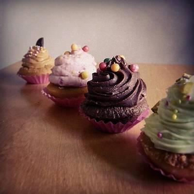 Fairy Photograph - Luscious Cupcakes by Barbara Orenya