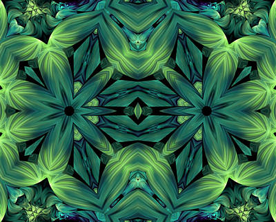 Creativity Mixed Media - Luscious Greenery by Georgiana Romanovna