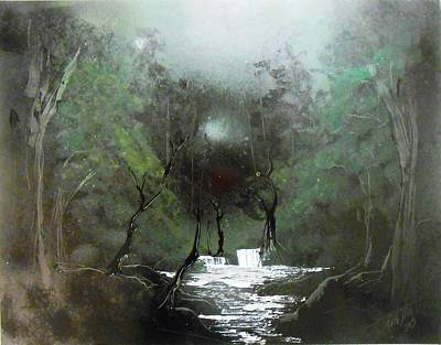 Lush Forest Print by Aaron Beeston