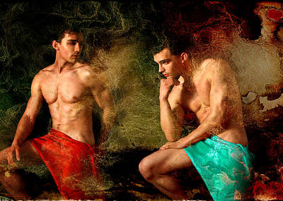 Gay Art Digital Art - Luxury by Mark Ashkenazi