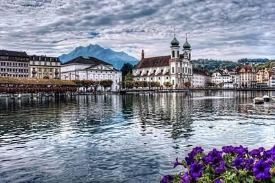 Lucerne Photograph - Lucerne  by Carol Japp
