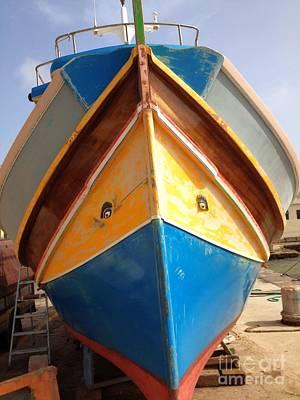 Marsaxlokk Photograph - Luzzu Fishing Boat by Noa Yerushalmi