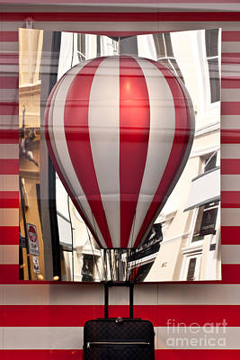 Western Chic Photograph - Lv Hot Air Balloon by Rick Piper Photography