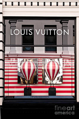 Storefront Photograph - Lv Hot Air Balloons 02 by Rick Piper Photography