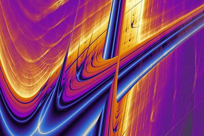 Lyapunov 25 Print by Mark Eggleston