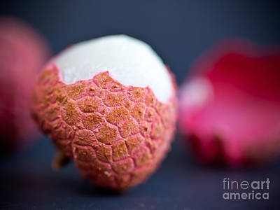 Vegetables Photograph - Lychee Bite Me II by Patricia Bainter