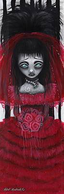 Pop Surrealism Painting - Lydia by  Abril Andrade Griffith