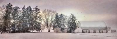Lykens Valley Farm Print by Lori Deiter