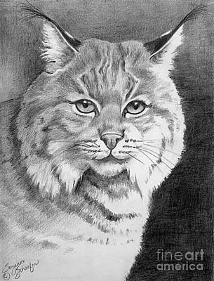 Lynx Print by Suzanne Schaefer