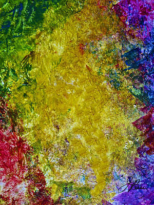 Colorful Photograph - Lyrical Painting 504 by Joan Reese