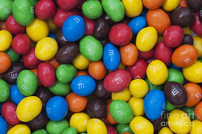 M And Ms Print by Tim Gainey