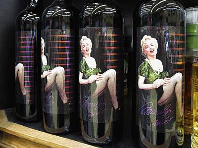 Women Tasting Wine Digital Art - M Merlot by Daniel Hagerman