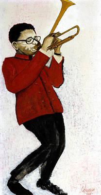 M7 Dizzy Gillespie Print by Dave Coleman