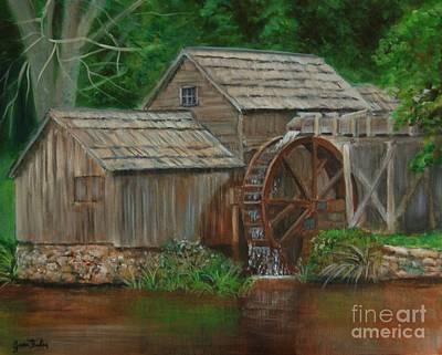 Mabry Painting - Mabrymill by Jana Baker