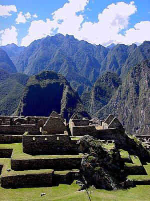 Peru Photograph - Machu Picchu East Urban Sector by Roger Burkart