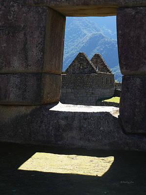 Spiritual Photograph - Machu Picchu Peru 6 by Xueling Zou