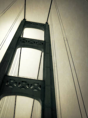 Mackinac Bridge 2.0 Print by Michelle Calkins