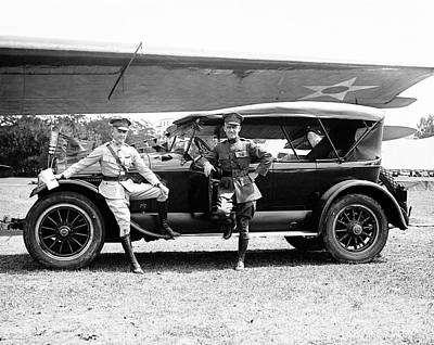 Airfield Photograph - Macready And Kelly by Library Of Congress