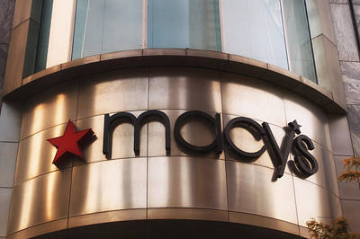 Macys Signage Print by Thomas Woolworth
