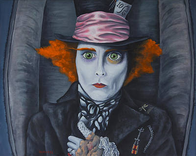 Mad Hatter Print by Travis Radcliffe