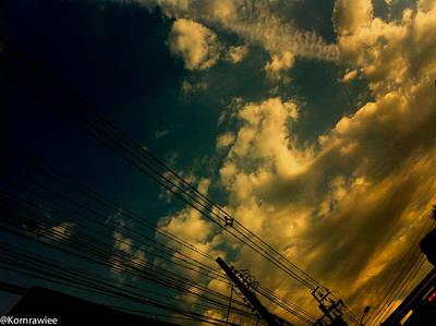 Photograph - Mad Sky by Kornrawiee Miu Miu