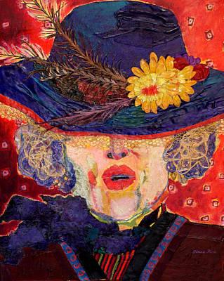 Aristocrat Mixed Media - Madame Hatter by Diane Fine