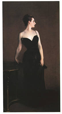 Evening Gown Painting - Madame X  by John Singer Sargent