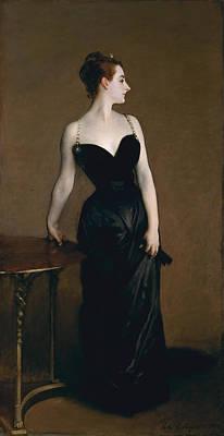 Victorian Painting - Madame X Madame Pierre Gautreau by John Singer Sargent