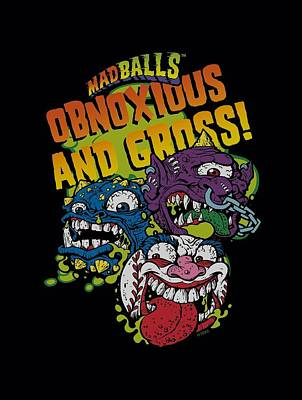 Madball Digital Art - Madballs - Gross by Brand A