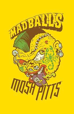 Madball Digital Art - Madballs - Mosh Pitts by Brand A