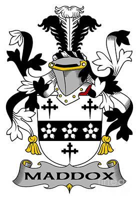 Maddox Digital Art - Maddox Coat Of Arms Irish by Heraldry