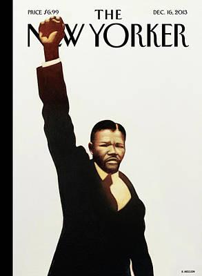Mandela Painting - Madiba by Kadir Nelson