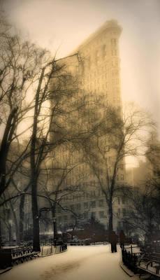 Madison Square Park Print by Jessica Jenney