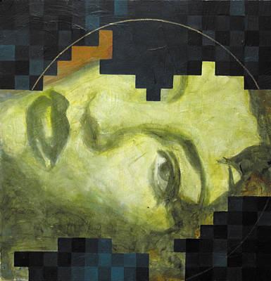 Madonna 1 Print by Sandra Cohen
