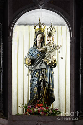 Madonna Sao Luis Brazil Print by Bob Christopher
